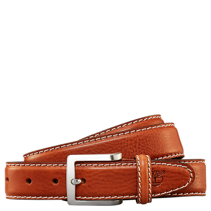 Men's Contrast-Stitched Sport Belt-