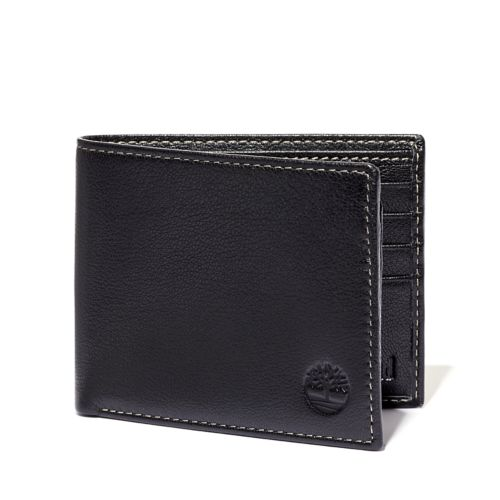 Milled Leather Passcase Wallet-
