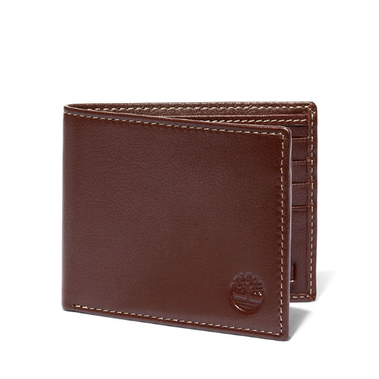Milled Leather Passcase Wallet