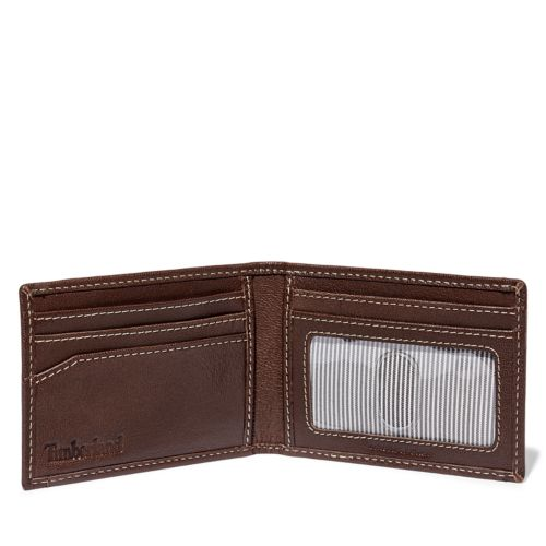 Milled Leather Money Clip-