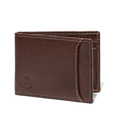 Milled Leather Money Clip