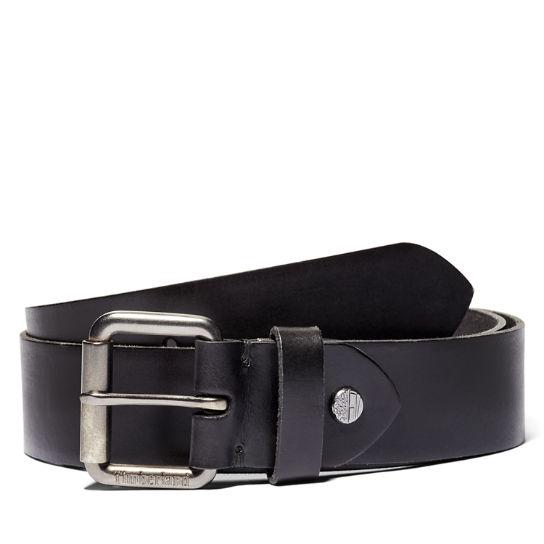 timberland men 39 s roller buckle buffalo leather belt. Black Bedroom Furniture Sets. Home Design Ideas