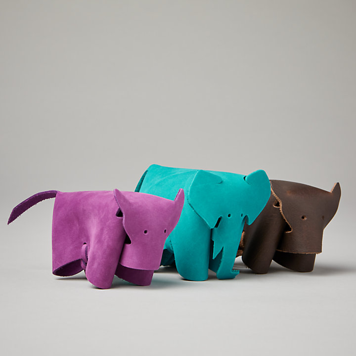 Timberland® Leather Animals: Elephant-