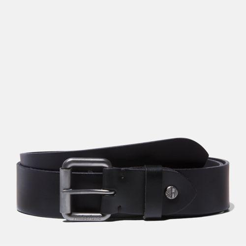 Men's Buffalo Leather Tree Belt-
