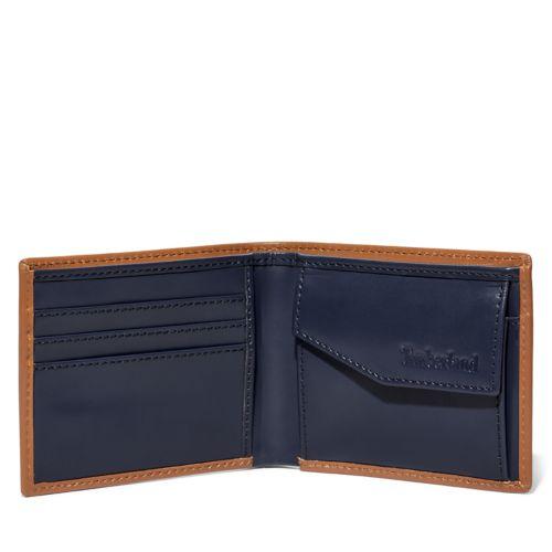 Men's Alton Ridge Two-Color Wallet With Coin Pocket-