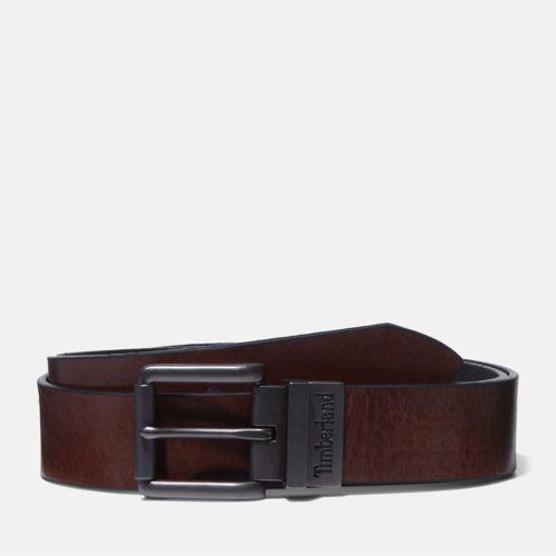 Men's Reversible Leather Belt-
