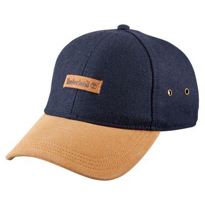 Men's Vintage-Style Wool Blend Baseball Cap