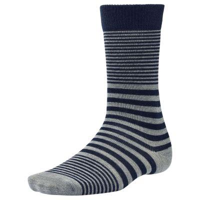Men's Premium Wool Striped Crew Socks