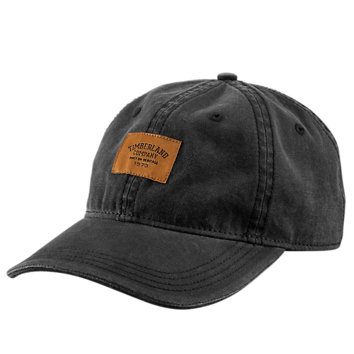 5a437c84 Timberland | Canvas Cap w/Woven Logo Patch