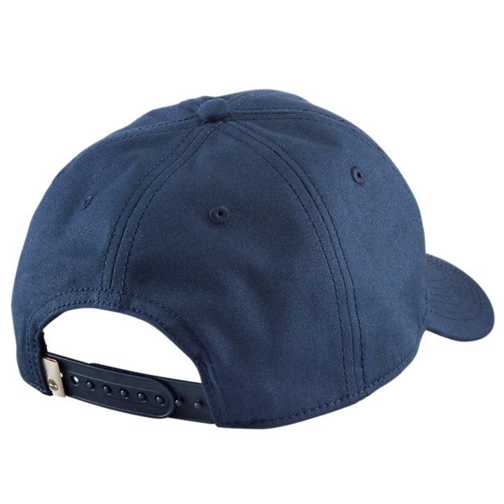 Rubber Logo Canvas Baseball Cap-
