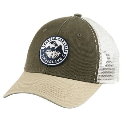 Embroidered Patch Trucker Cap