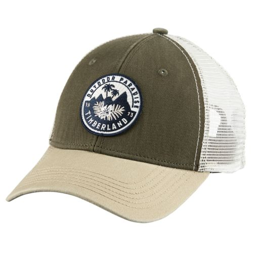 Embroidered Patch Trucker Cap-