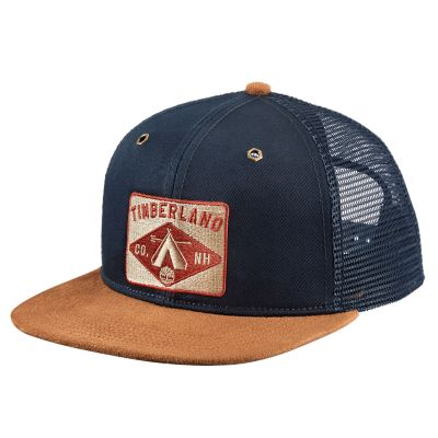 Flat-Brim Teepee Patch Baseball Cap