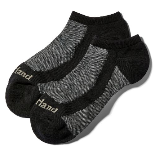 Men's Essential Wicking No-Show Socks (2-Pack)-