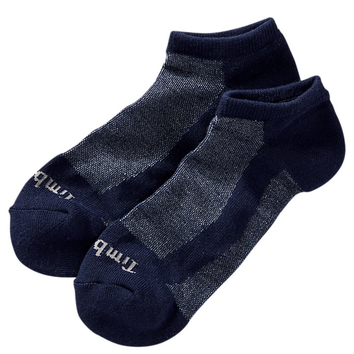 Men's Essential Wicking No-Show Socks (2-Pack)-