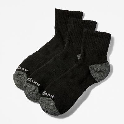Men's Essential Ankle Socks (3-Pack)