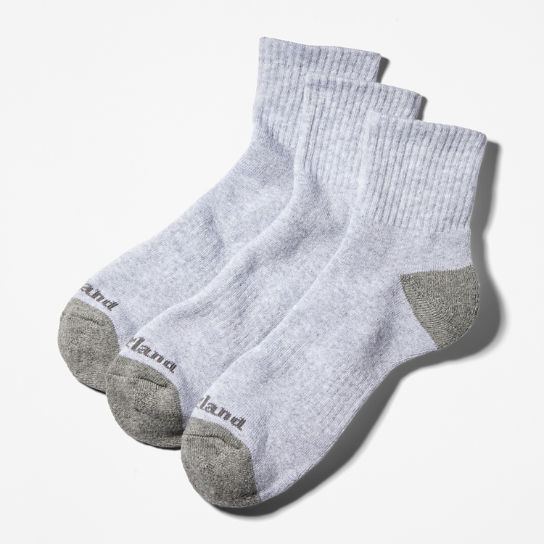 Men's Essential Ankle Socks (3-Pack)