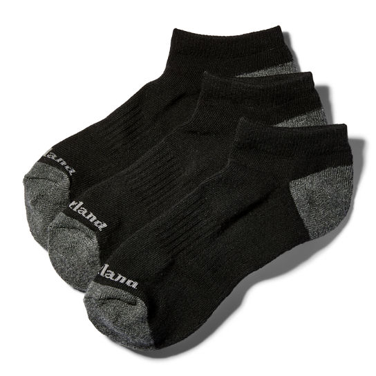 Men's Essential No-Show Socks (3-Pack)