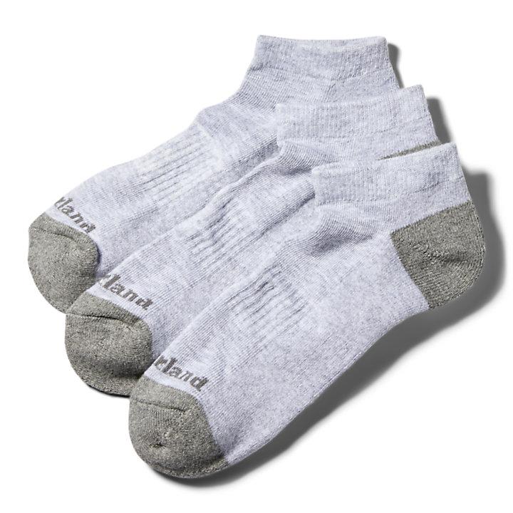 Men's Essential No-Show Socks (3-Pack)-