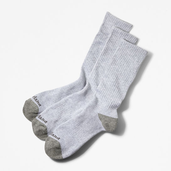 Men's Essential Crew Socks (3-Pack)