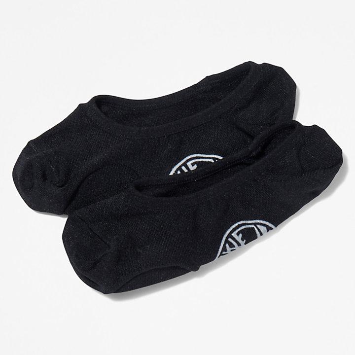 Women's No-Show Padded Liner Socks (2-Pack)-