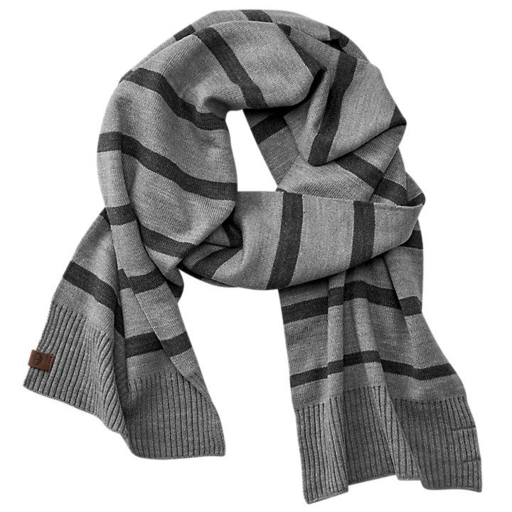 Striped Winter Scarf-