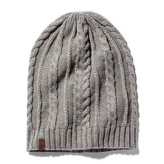 Women's Slouchy Cable Beanie
