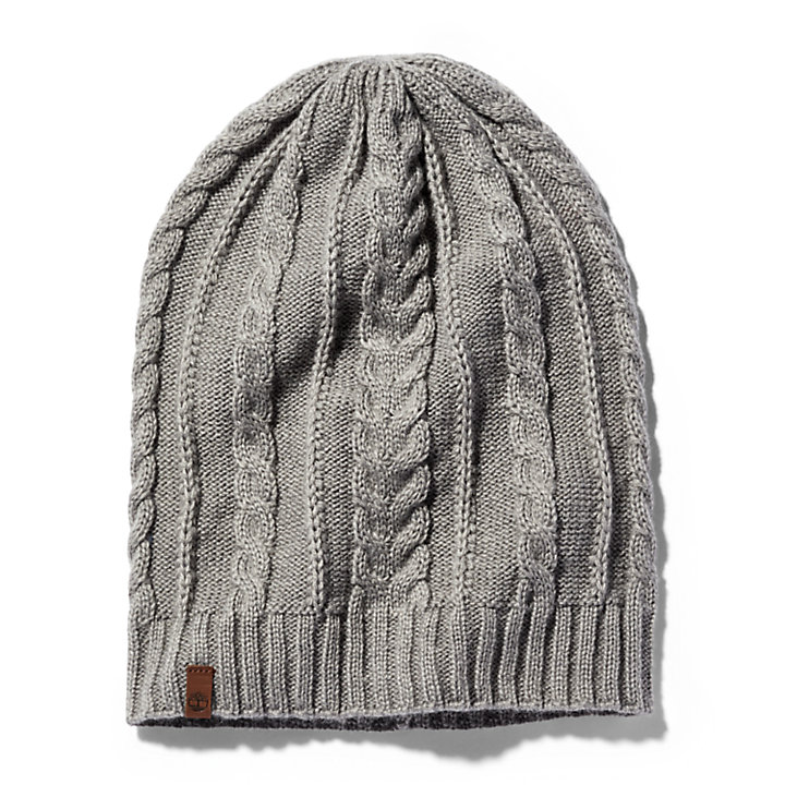 Women's Slouchy Cable Beanie-
