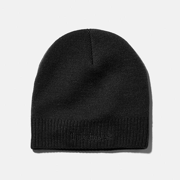 Warm Double-Knit Beanie-