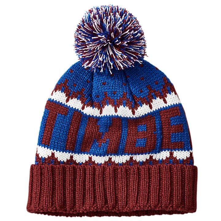 Cuffed Logo Pom Hat-