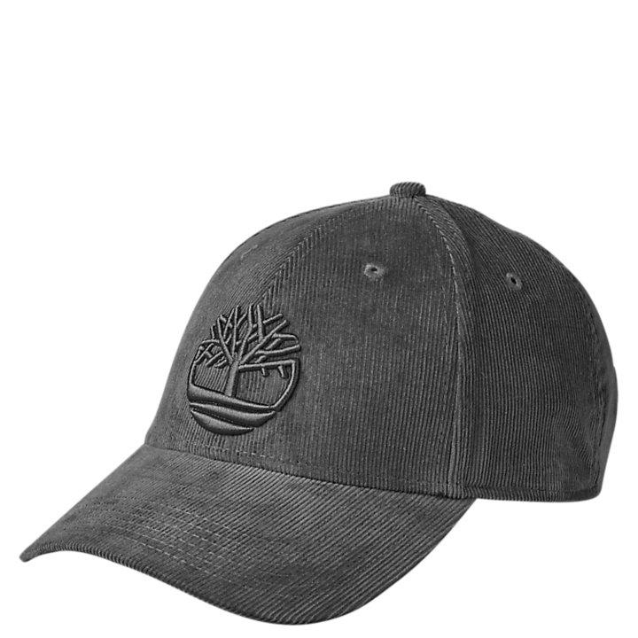 Corduroy Tree Logo Baseball Cap-