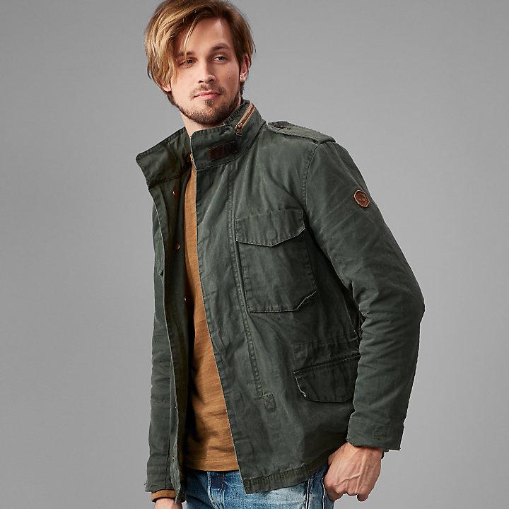 Men S Mount Davis M65 Waxed Jacket Timberland Us Store
