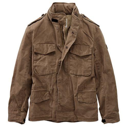 Men's Mount Davis M65 Waxed Jacket-