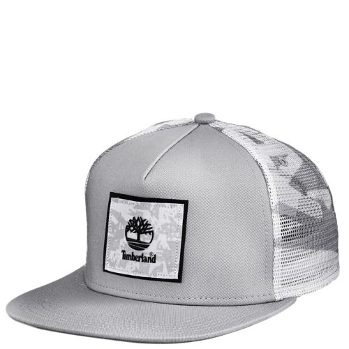 Camo Mesh Snapback Trucker Cap-