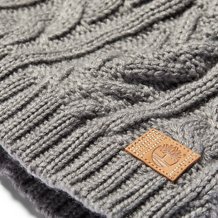 Women's Cableknit Winter Beanie-