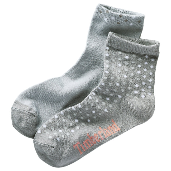 Women's Polka-Dot Crew Socks (2-Pack)-