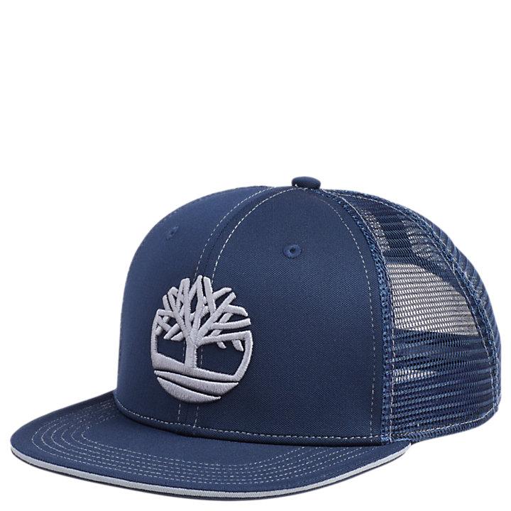Mesh Tree Logo Trucker Cap-