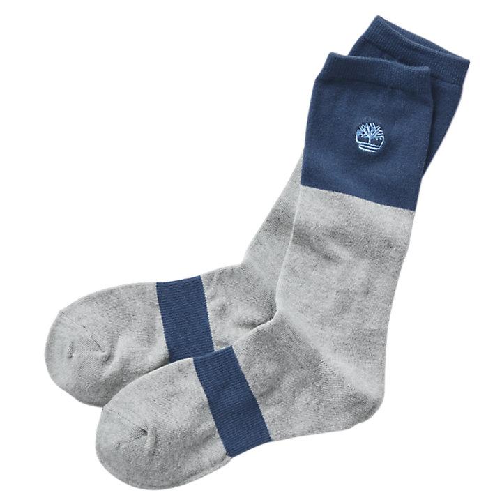 Men's Color Block Crew Socks-