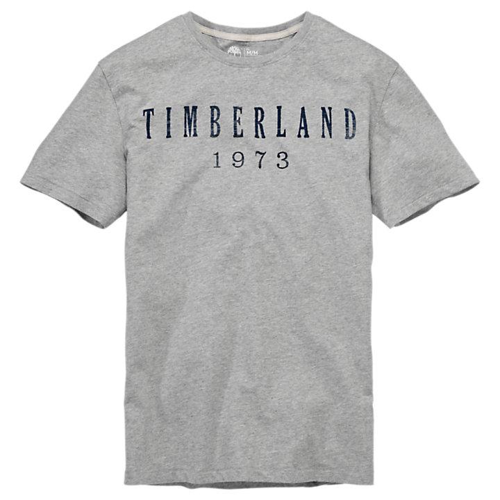 Men's Kennbec River Linear Logo T-Shirt-