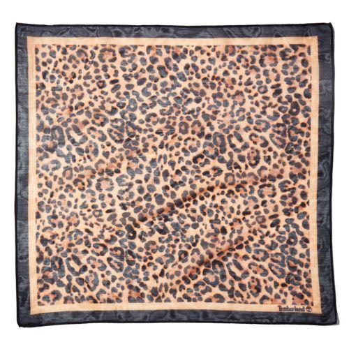 Women's Safari Leopard-Print Bandana-