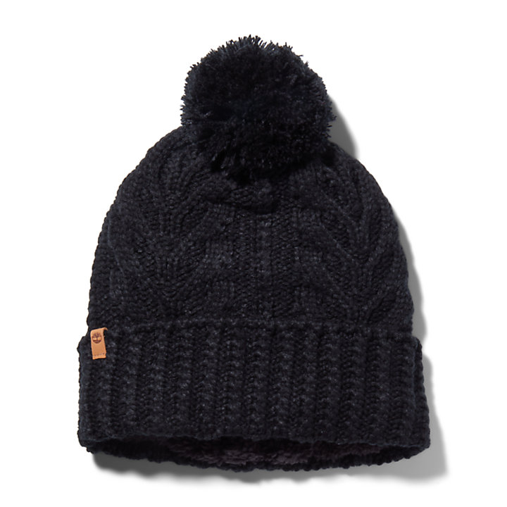 Women's Essential Cable-Knit Winter Beanie-