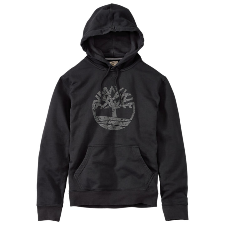 Men's Oyster River Tree Logo Hoodie-