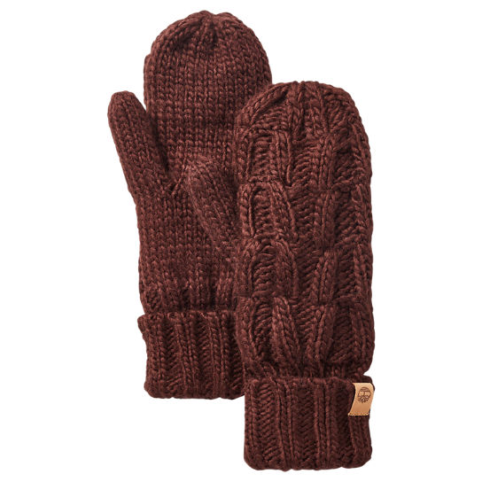 Women's Shadow Lake Cable-Knit Mittens