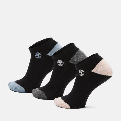 Women's 3-Pack Sagamore Beach No-Show Socks