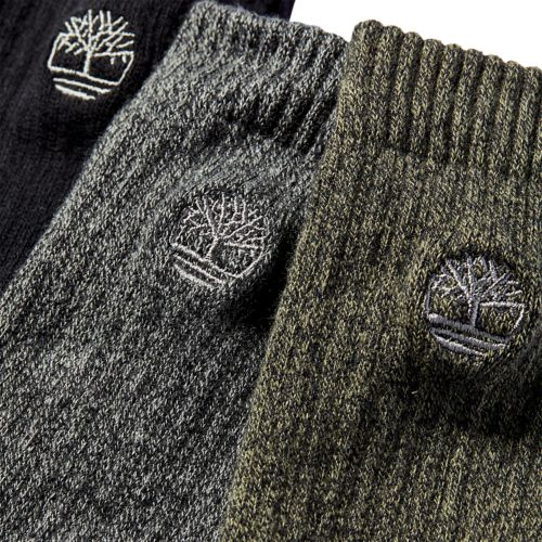 Men's Marled Crew Socks (3-Pack)-