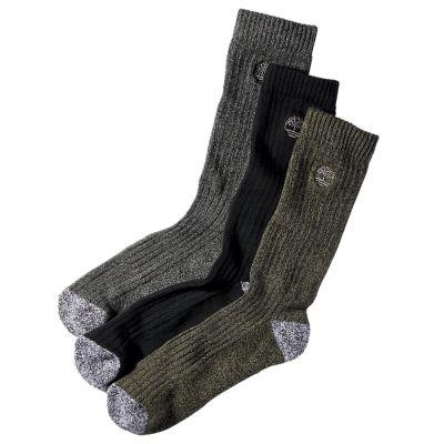 Men's Marled Crew Socks (3-Pack)