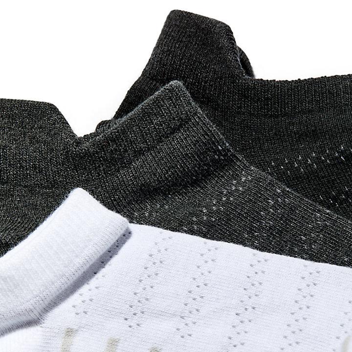 Women's Heathered No-Show Socks (3-Pack)-