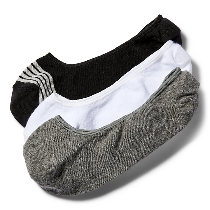 Women's Striped Liner Socks (3-Pack)-