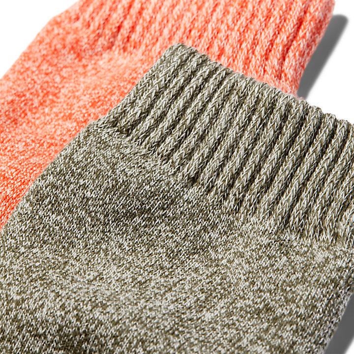Women's Marled Shortie Boot Socks (2-Pack)-