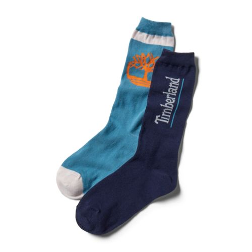 Men's 2-Pack Mesh Logo Crew Socks-